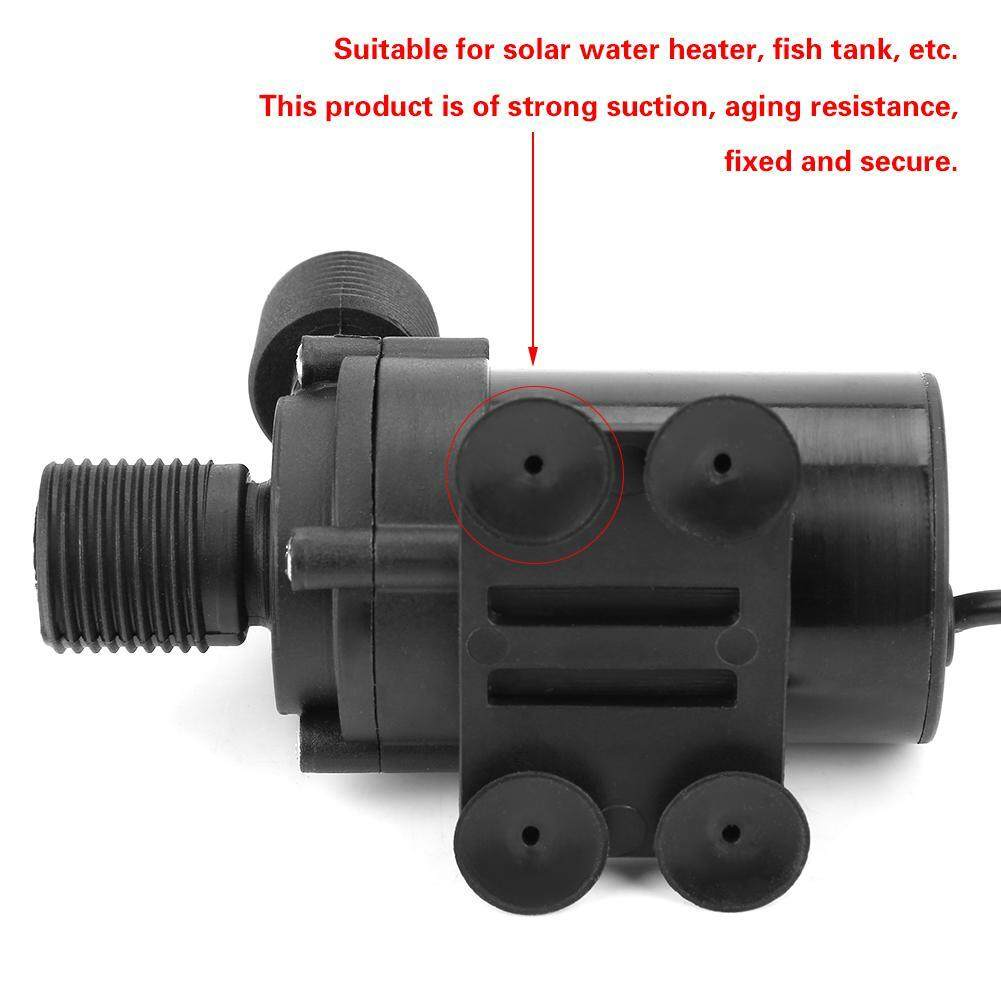 【Made in Italy 】Mini DC Brushless Water Pump for Solar Water Heater 24V -40℃ ~100℃