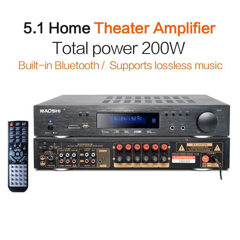 Fine 5 1 Home Theater System Power Amplifier Microphone Usb Bluetooth Tv Input Optical Coaxial Lossless Music Flac Ape Support Subwoofer Download Free Architecture Designs Grimeyleaguecom
