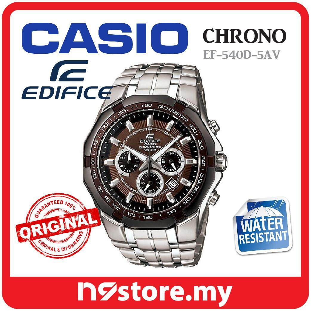 Casio Edifice Watches Price In Malaysia Best Efr 538d 1av Ef 540d 5av Chronograph Watch For Men Silver Stainless Steel