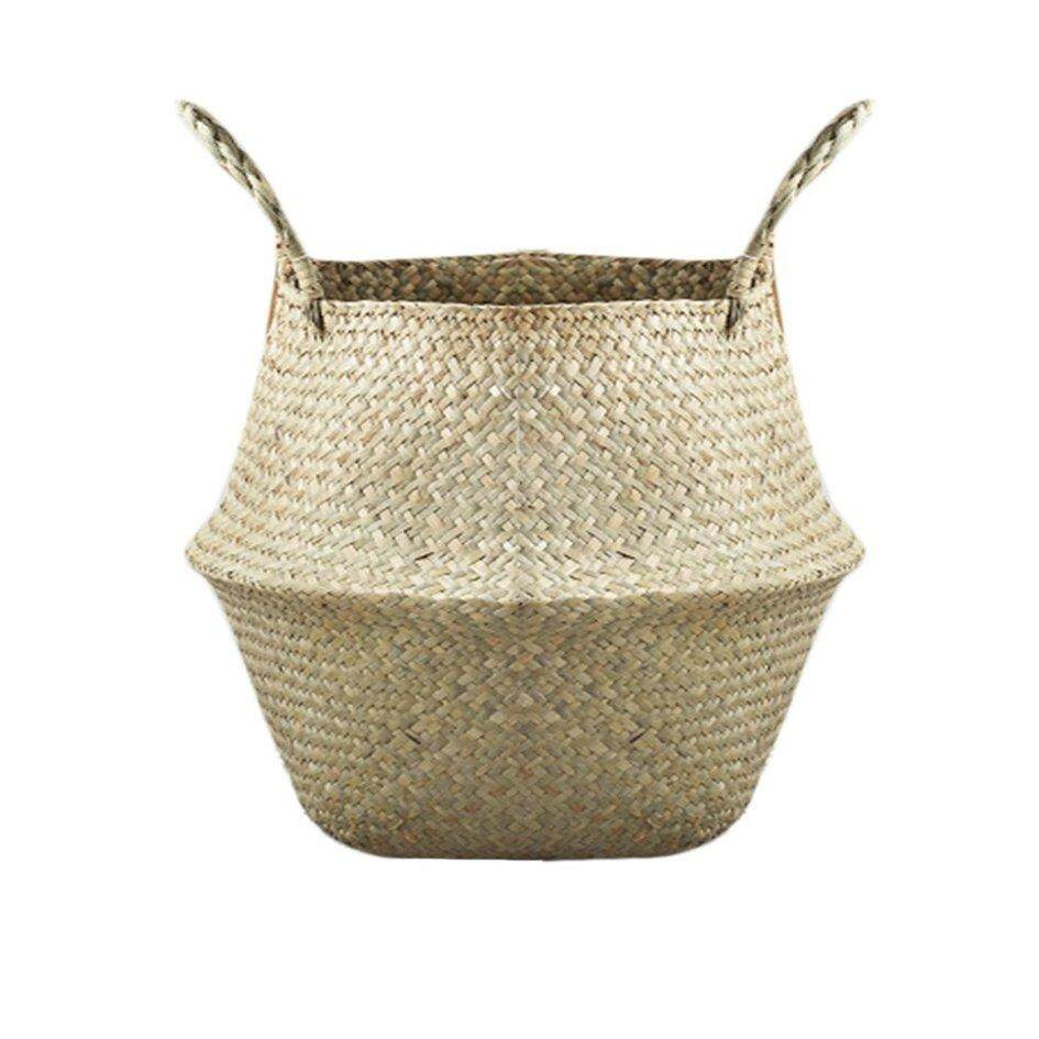 Oh Natural Seagrass Woven Storage Pot Foldable Garden Flower Vase Hanging  Basket Jpg 945x945 Outdoor Stereo