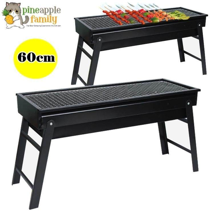 60cm Premium Stainless Steel Portable Medium Anese Style Stove Bbq Grill Stand Charcoal