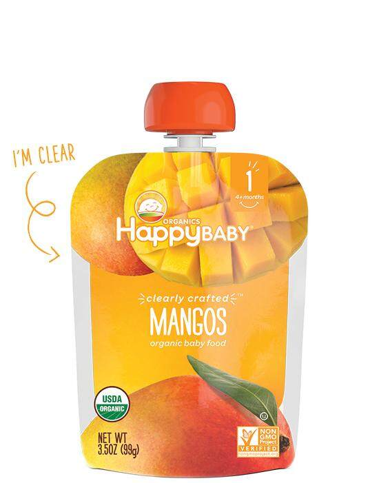 Happy Baby Clearly Crafted Mango 99g For 6+ Mths By Mam Mamm Store.