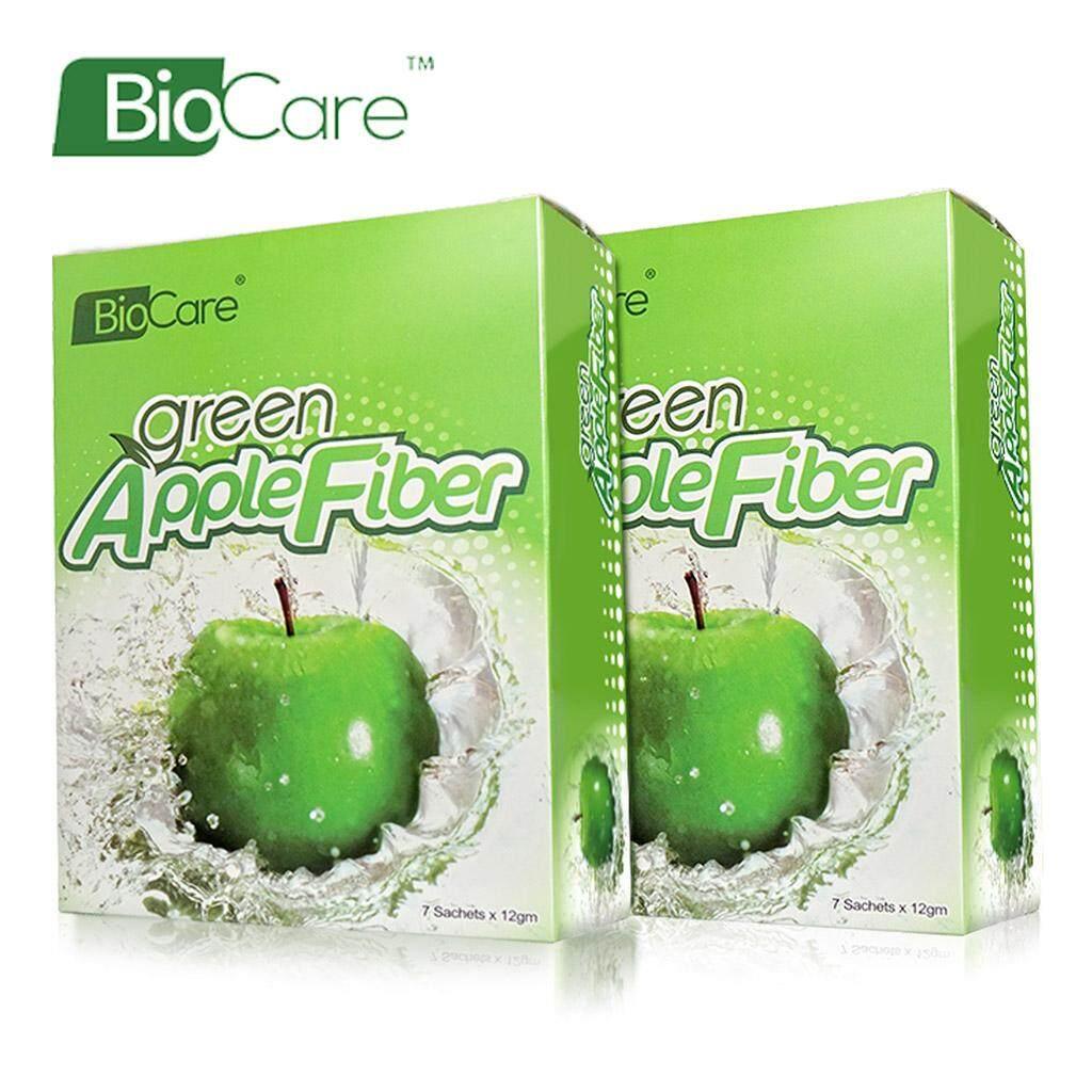 Buy Sell Cheapest 2x Kiss Beauty Best Quality Product Deals Bigen Speedy 2 X 30gr Biocare Green Apple Fiber 7 Sachets X12g Detox