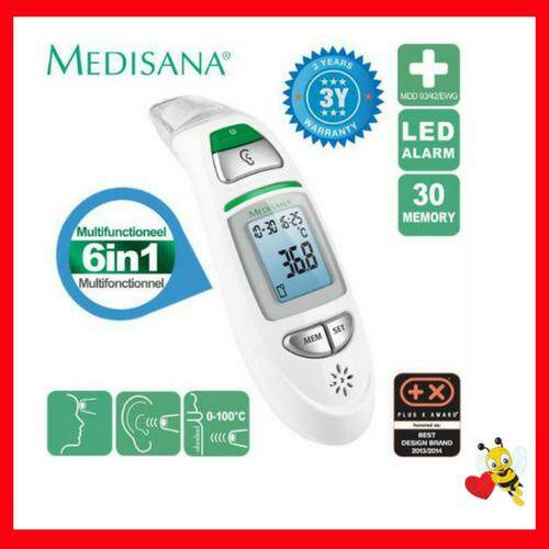 Medisana Tm 750 6in1 Infrared Multi Functional Thermometer By Blessed Bee.