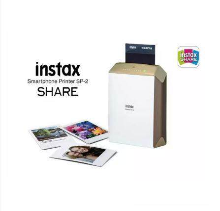Fujifilm Instax Share Smartphone Printer Sp-2 (gold) By Camera & Gadget.