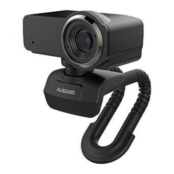 Ausdom HD Streaming Webcam, Full 1080P Video Calling and Recording Web Camera with Dual Built-in Noise Cancelling Microphones, Desktop PC or Laptop Cam by