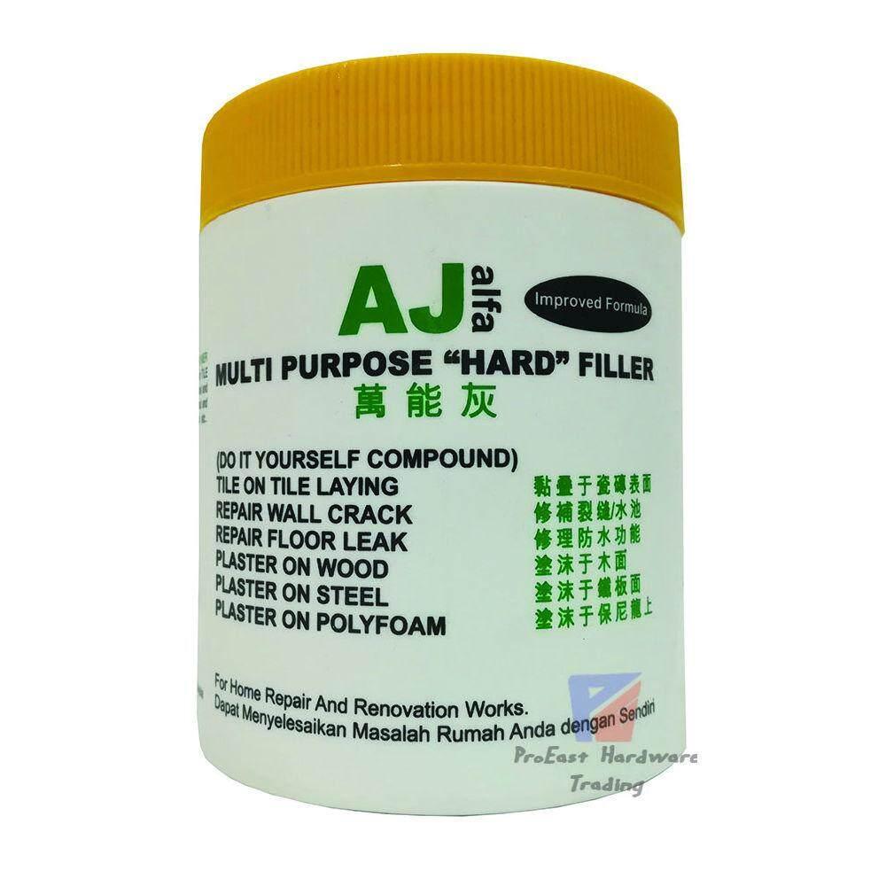 AJ-Multi Purpose HARD Filler Cement-0.8kg(White)