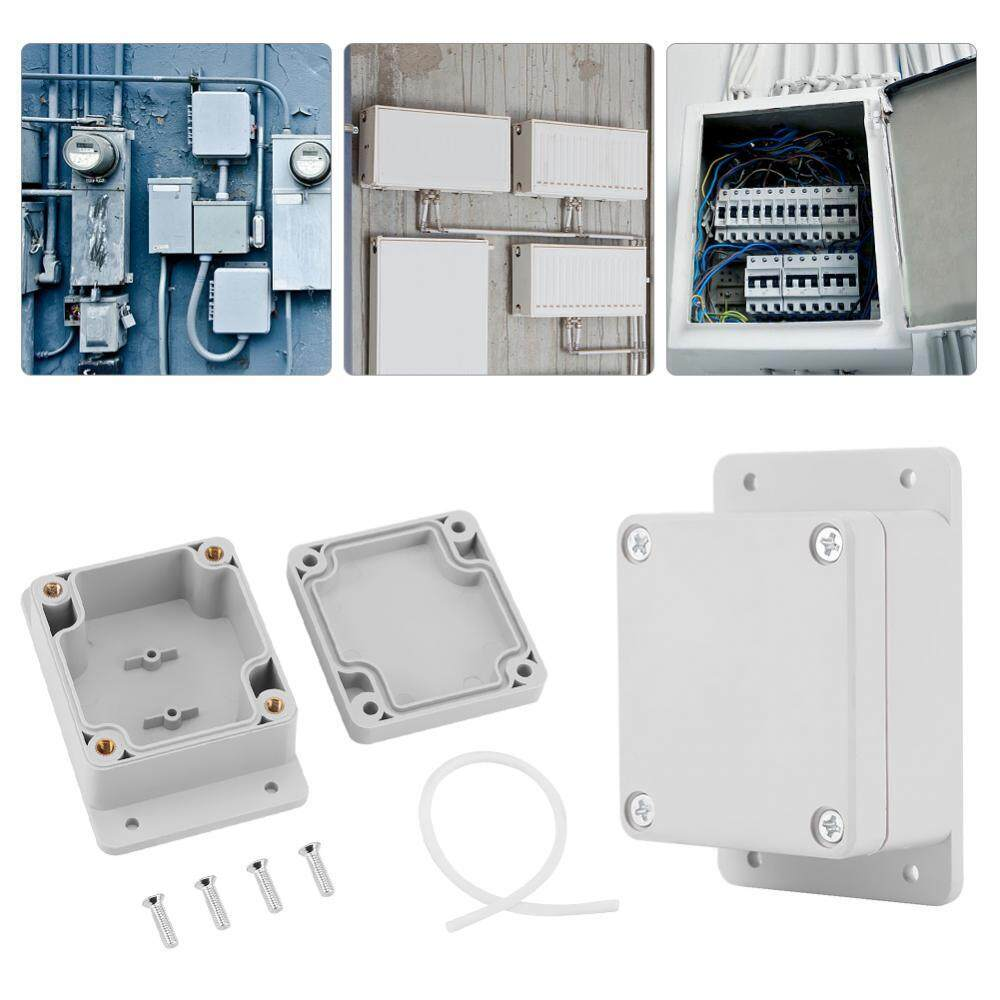 Water-resistant IP65 ABS Electrical Project Box Enclosure Instrument Case (89*59*35mm)