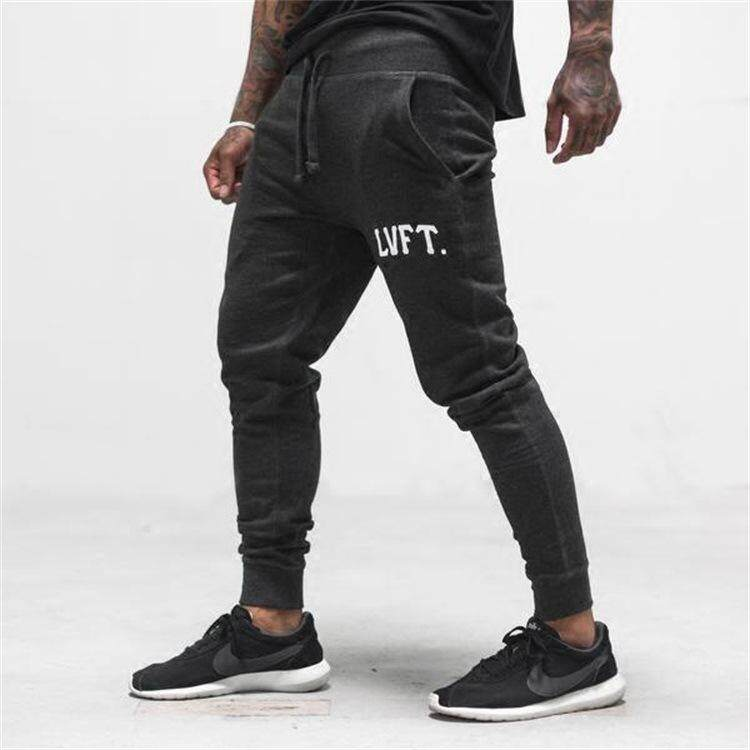 3b7c06d9bf Mens Fitness Sweatpants Male Gyms Bodybuilding Joggers Workout Trousers  Casual Fashion Sportswear Brand Pencil Pants