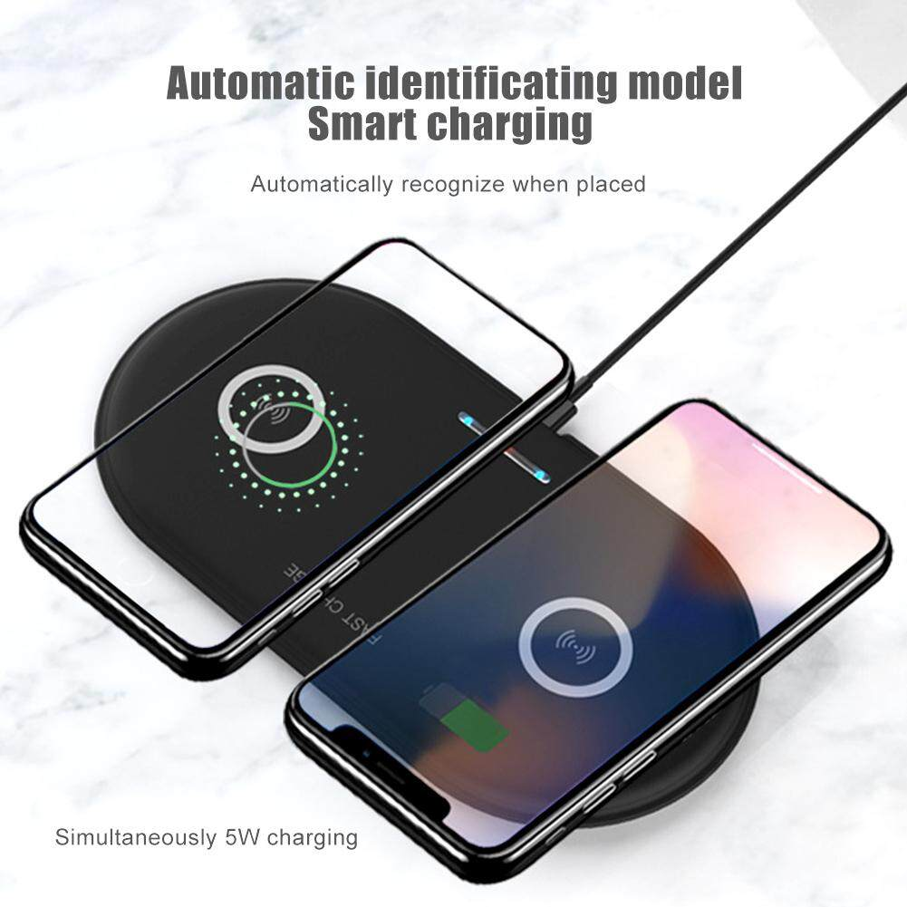 New Patented Product Wireless Dual Charging Wireless Charger Dual Charging Mobile Phone Charger Base Dual Charging Wireless Charging By Shenerda.