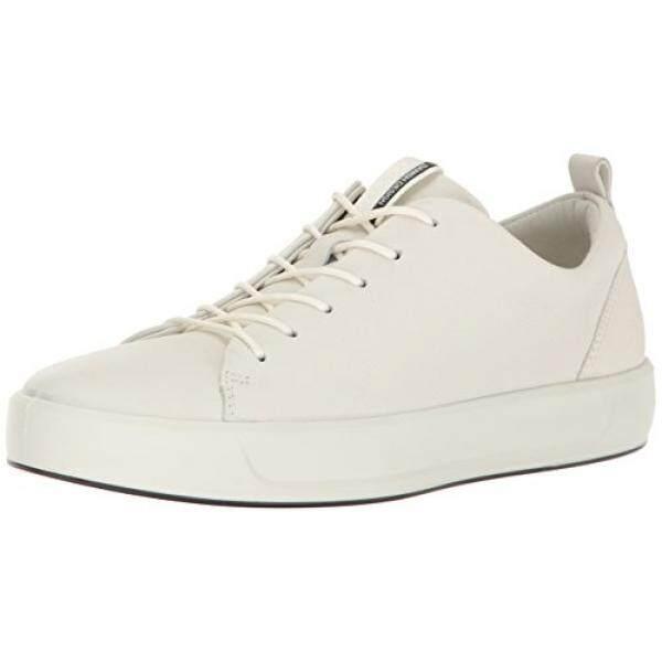 bce798c24f5b8 ECCO Womens Womens Soft 8 Fashion Sneaker, White, 36 EU/5- US