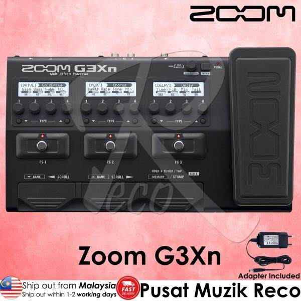 Zoom G3Xn Guitar Multi Effects Pedal Processor with Original Zoom Adaptor (G3-Xn) Malaysia