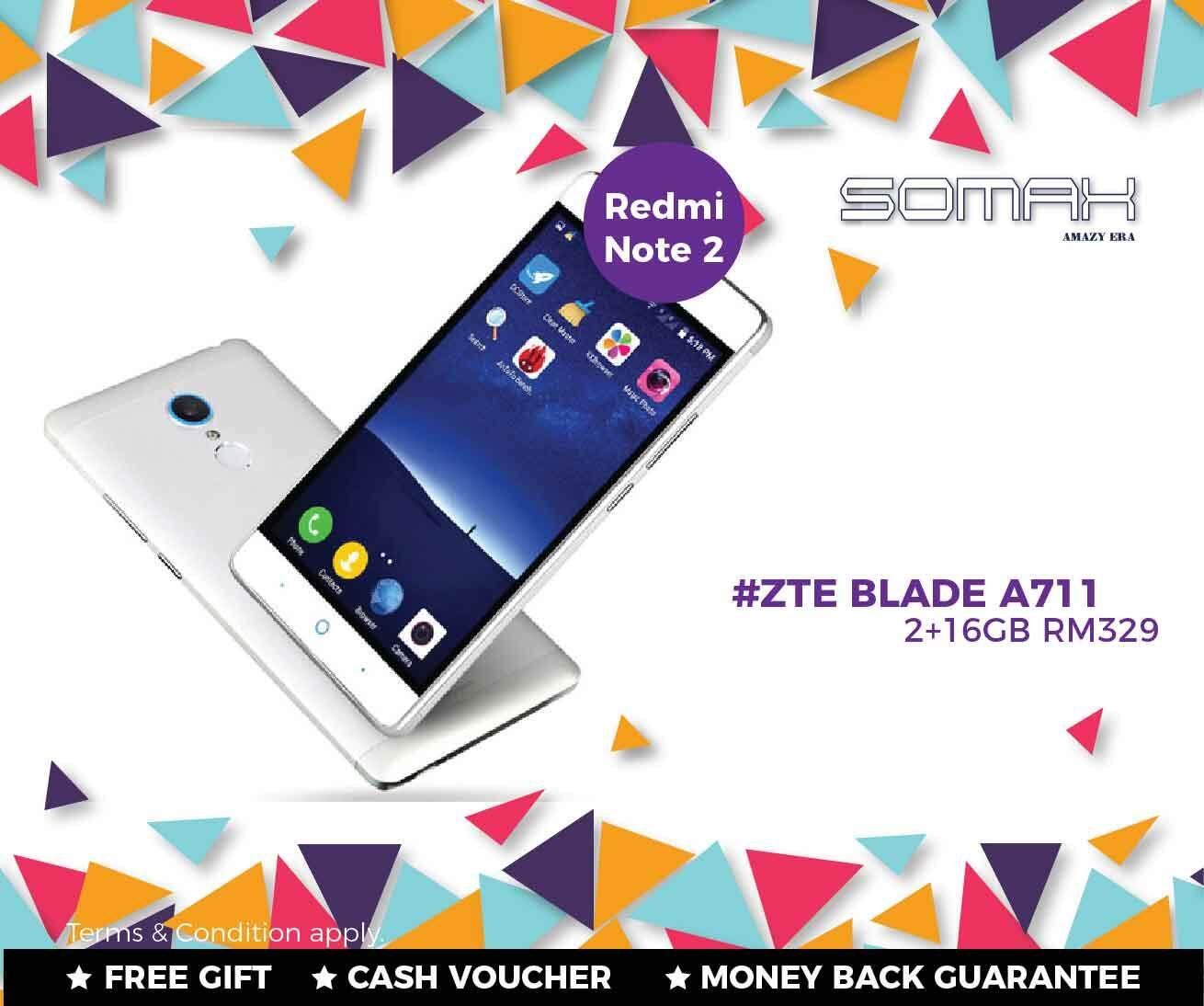 ZTE BLADE A711 X9 * N939SC Snapdragon 615 Octa-Core RM329