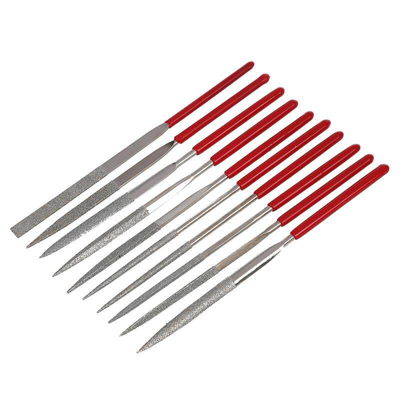 10 Pieces Professional Needle File Set Tools