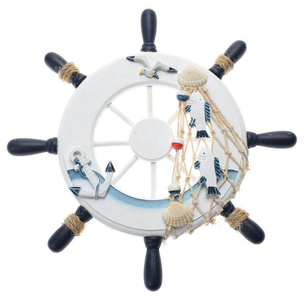 Leegoal Ornamental Home Nautical Wall Marine Decor Wood Pirate Ship Helm Wheels By Cn Pioneer.