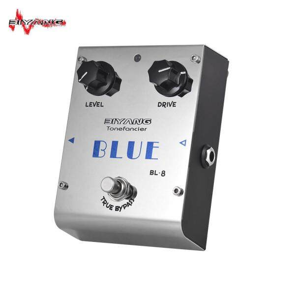 BIYANG BL-8 Tonefacier Series Blues Overdrive Guitar Effect Pedal True Bypass Full Metal Shell Malaysia