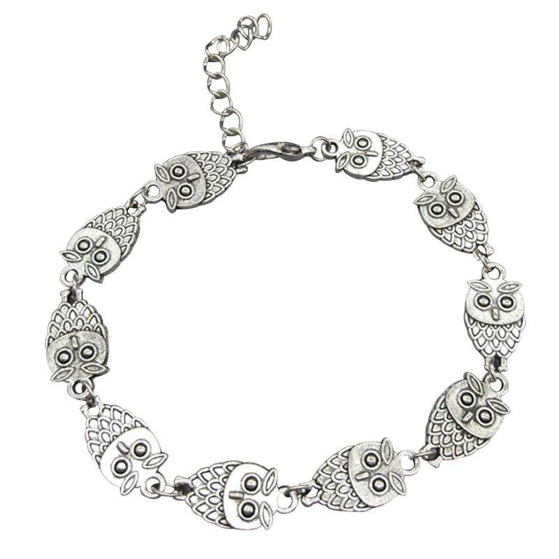 0ed0960b8 Fancyqube New Owl Charm Anklets Bracelets On The Leg For Women Gold Foot  Chain Jewelry Fashion