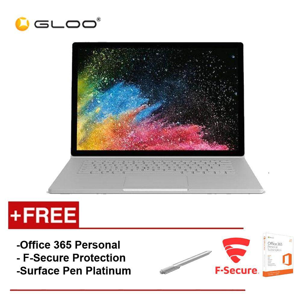 Surface Book 2 15 Core i7/16GB RAM - 512GB [FREE F-Secure End Point Protection + Off 365 Personal + Microsoft Surface Pen Platinum] Malaysia