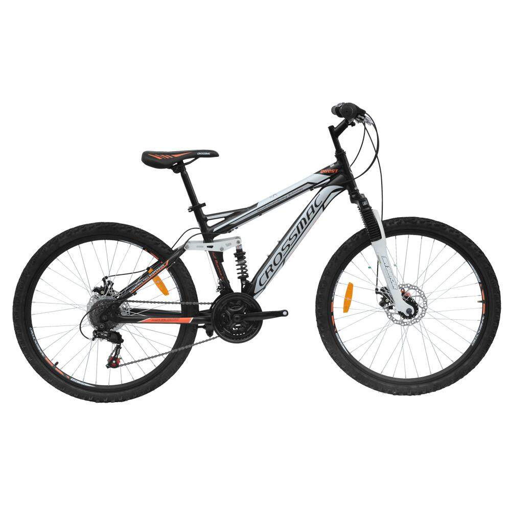Crossmac Full Suspension Bike Md268-D 26 Inch Frame 17inch By Bike City Asia.