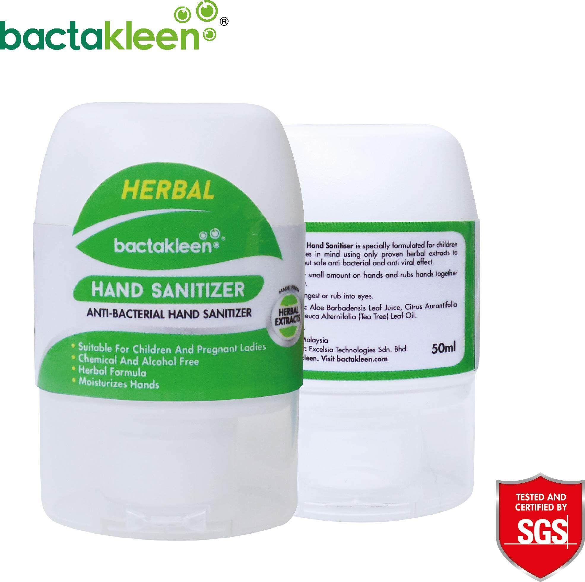 Hand Washes And Sanitizers Buy At Best Dettol Sanitizer Original 50 Ml 4 Pcs Herbal 50ml By Bactakleen Alcohol Free Non Toxic