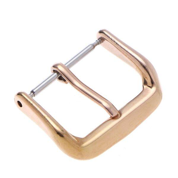 Stainless Steel PVD Replacement Buckle Watch Bands Straps Replacement Buckle Watchband Clasp (Rose Gold) Malaysia