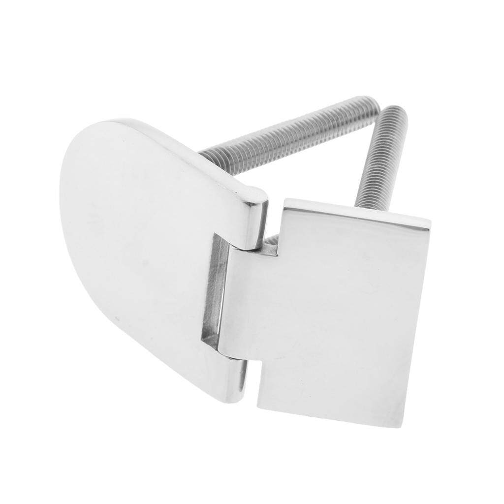 Miracle Shining 2pcs Boat Marine Stainless Steel Flush Door Concealed Hinge 76 x 40 x 4 mm
