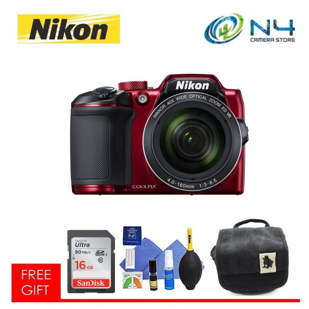 Branded Dslr Slr Cameras With Best Price In Malaysia Where To Get Parts Diagram For A Nikon D5000 Dx Vr Afs Coolpix B500 Red 16gb Card Cleaning Kit Camera Bag