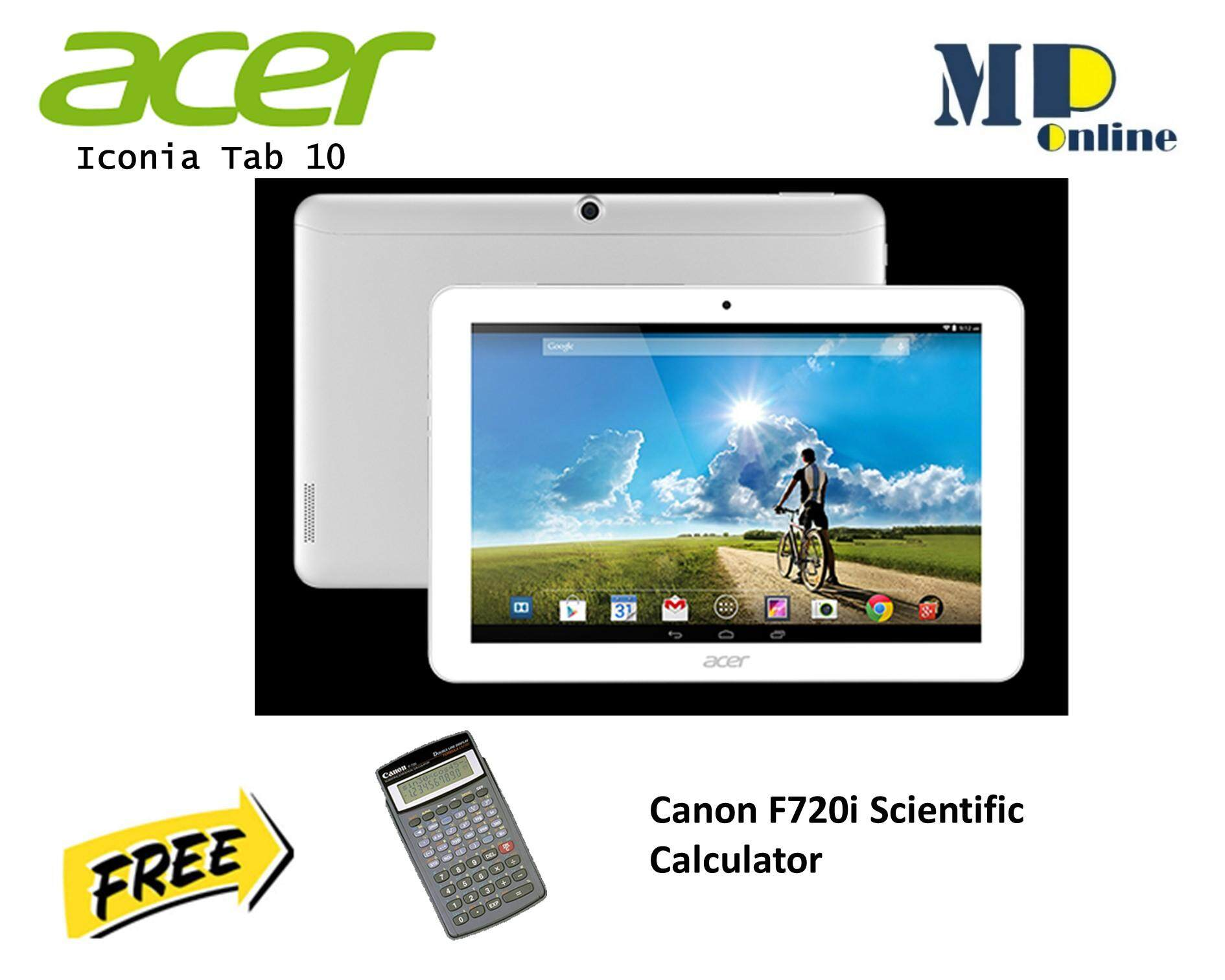 Acer Mobiles Tablets Price In Malaysia Best Tablet B1 723 Iconia Talk 7 One 10