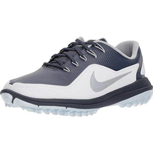 the best attitude 1279f 5ba63 NIKE Mens Lunar Control Vapor 2 Golf Shoes, Thunder Blue Reflect Silver -White