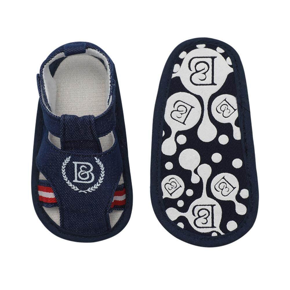 101490fc5bc7 Infant Toddler Baby Shoes Boy Sandal Magic Tape Soft Sole Non-Slip Sneaker  Prewalker For