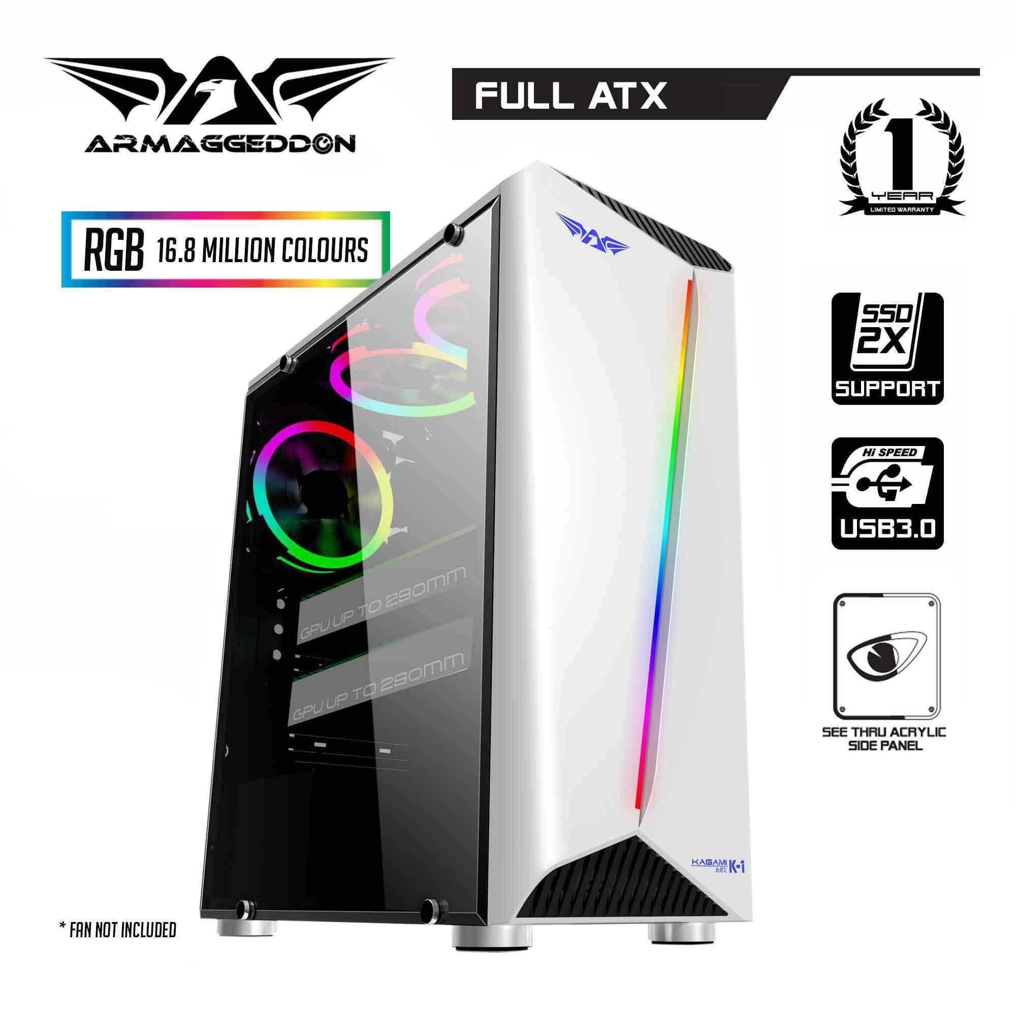 Armaggeddon KAGAMI K1 Excellent Full ATX Gaming PC Casing Malaysia