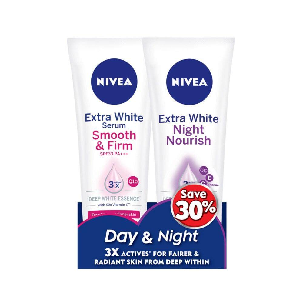 Nivea Products For The Best Price In Malaysia Body Lotion Extra White Firm Smooth 200ml Serum Day Night Set 1s