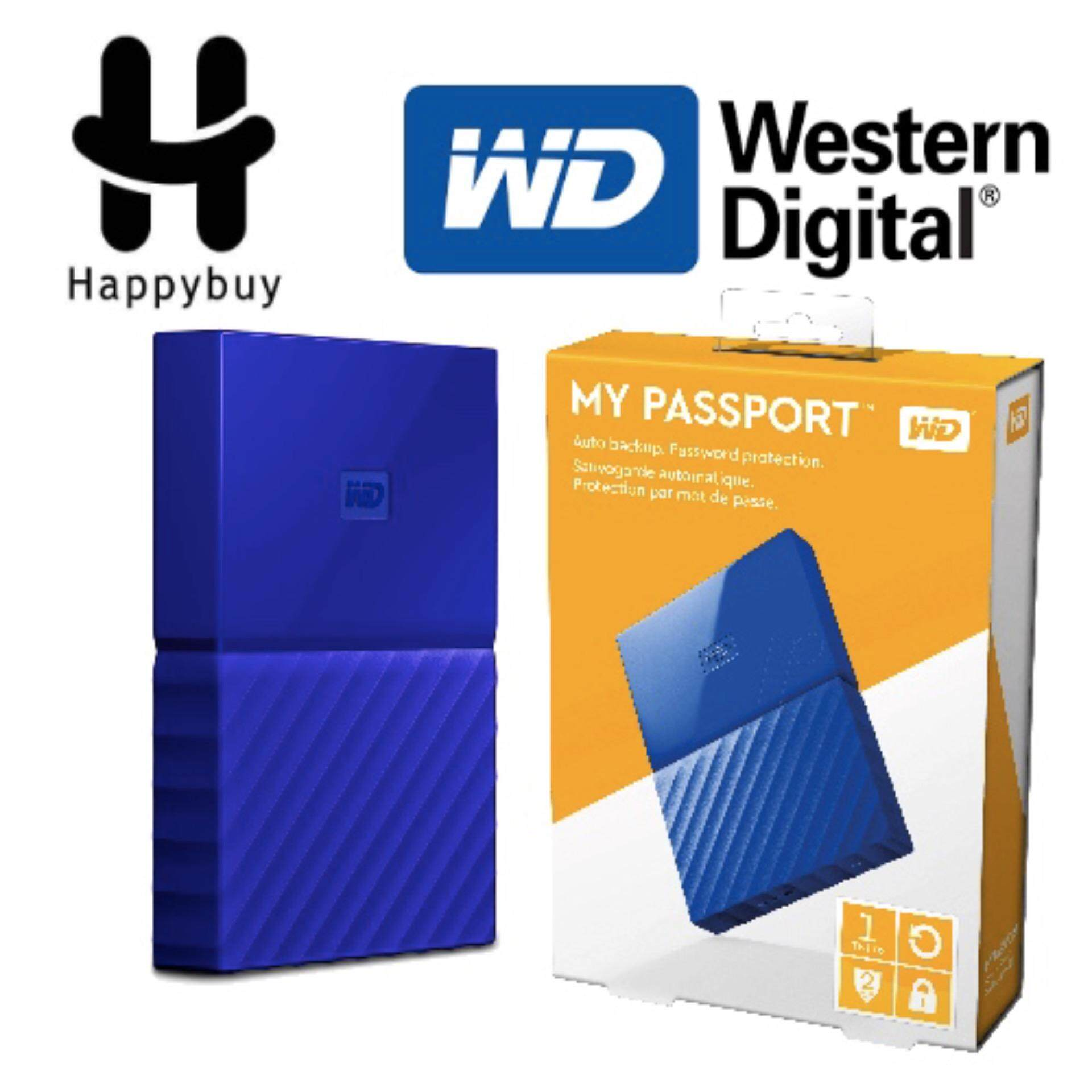 Western Digital External Hard Drives Price In Malaysia Best Wd My Passport 1tb Blue