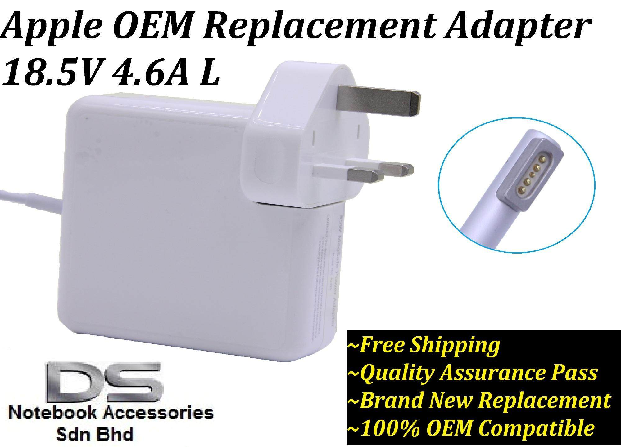 Apple Mac Power Adapters For The Best Prices In Malaysia Magsafe 85w A1343 Adapter Charger Macbook Pro 15 Original Oem 13 Inches Early Or Mid 2012