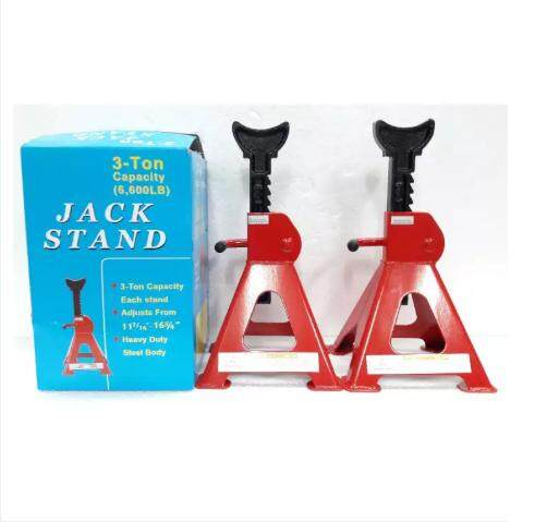 [japan Design] 3 Ton Heavy Duty Strong Jack Stand Car 1 Pair 2 Pcs By Riverside Supply Centre.