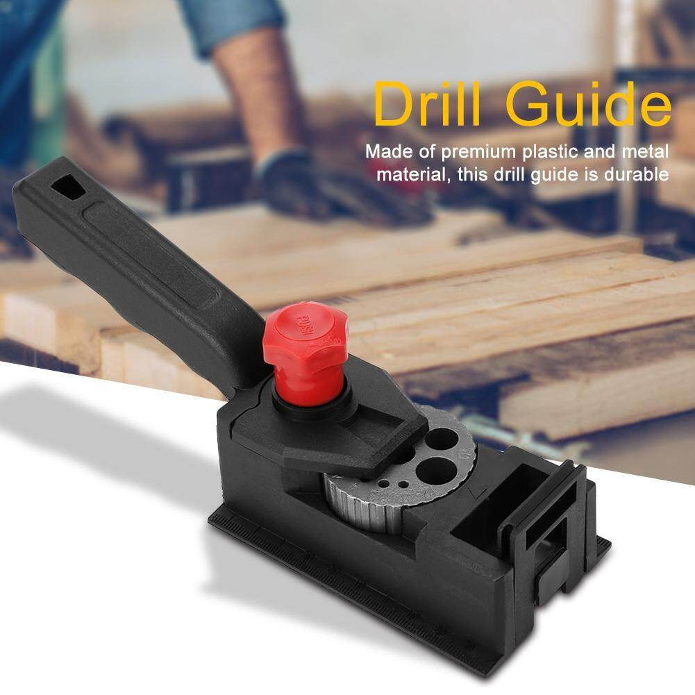 【made In Italy 】38pcs/set Wood Dowel Straight Hole Drilling Guide Woodworking Carpentry Positioner Locator Tool By Lfinger.