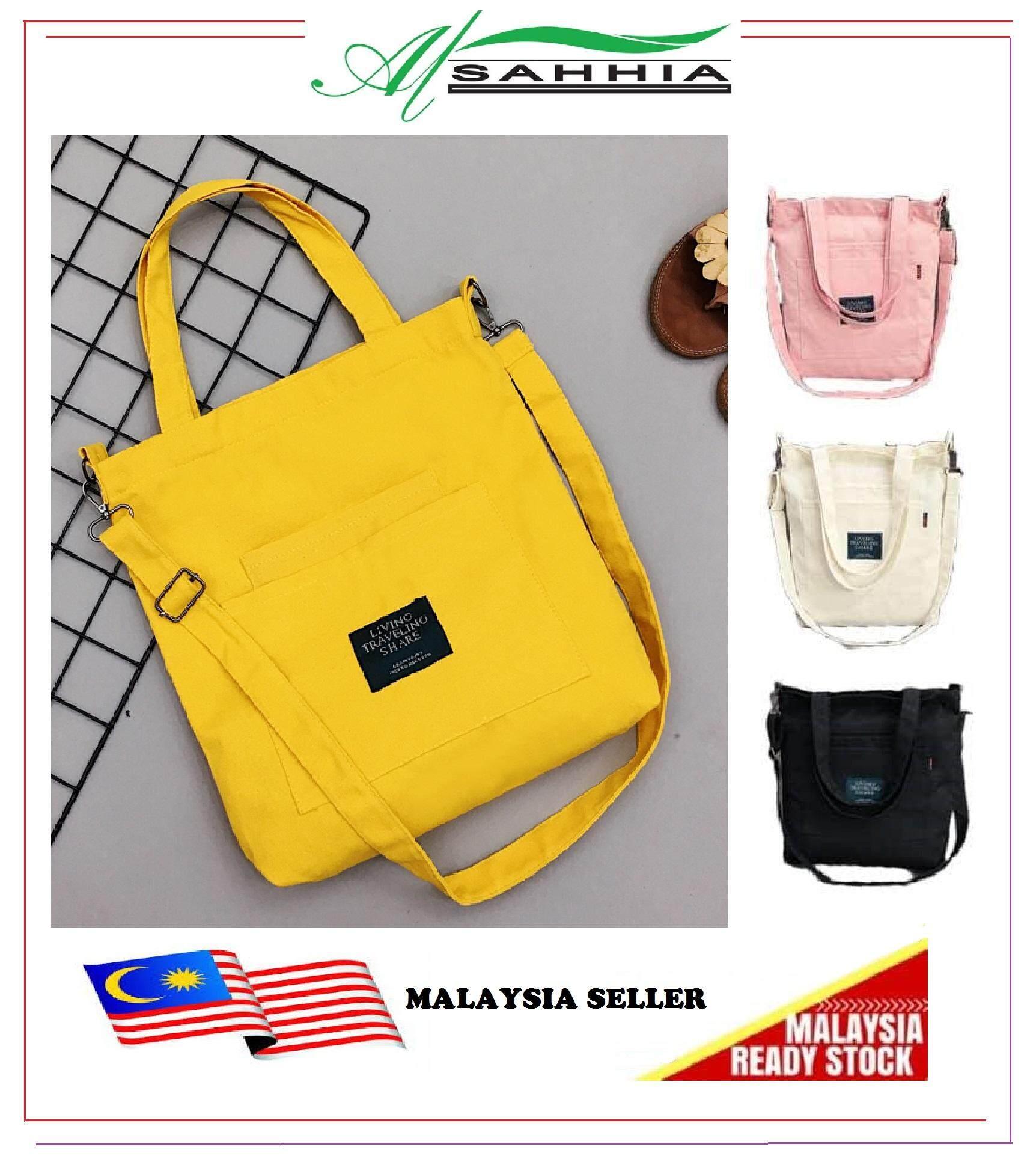 b74406338c2c 4R2 Al Sahhia Fashion Korean Style Design Women Linen Canvas Sling Bag  Shell Casual Large Bucket Tote Shoulder Bag