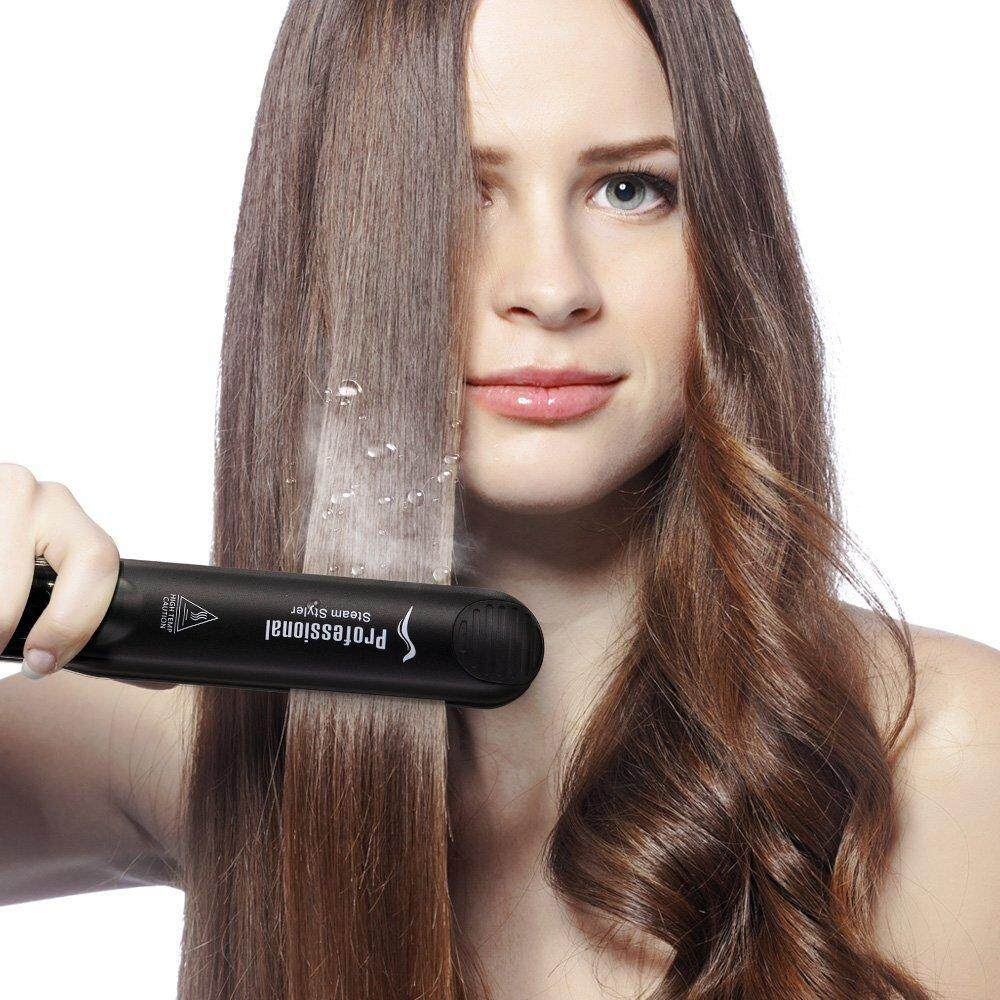 Hair Iron Straightener With Best Online Price In Malaysia Beauty Catok 2 1 Yuntime Professional Argan Oil Steam Flat Injection Painting 450f Straightening Irons Care