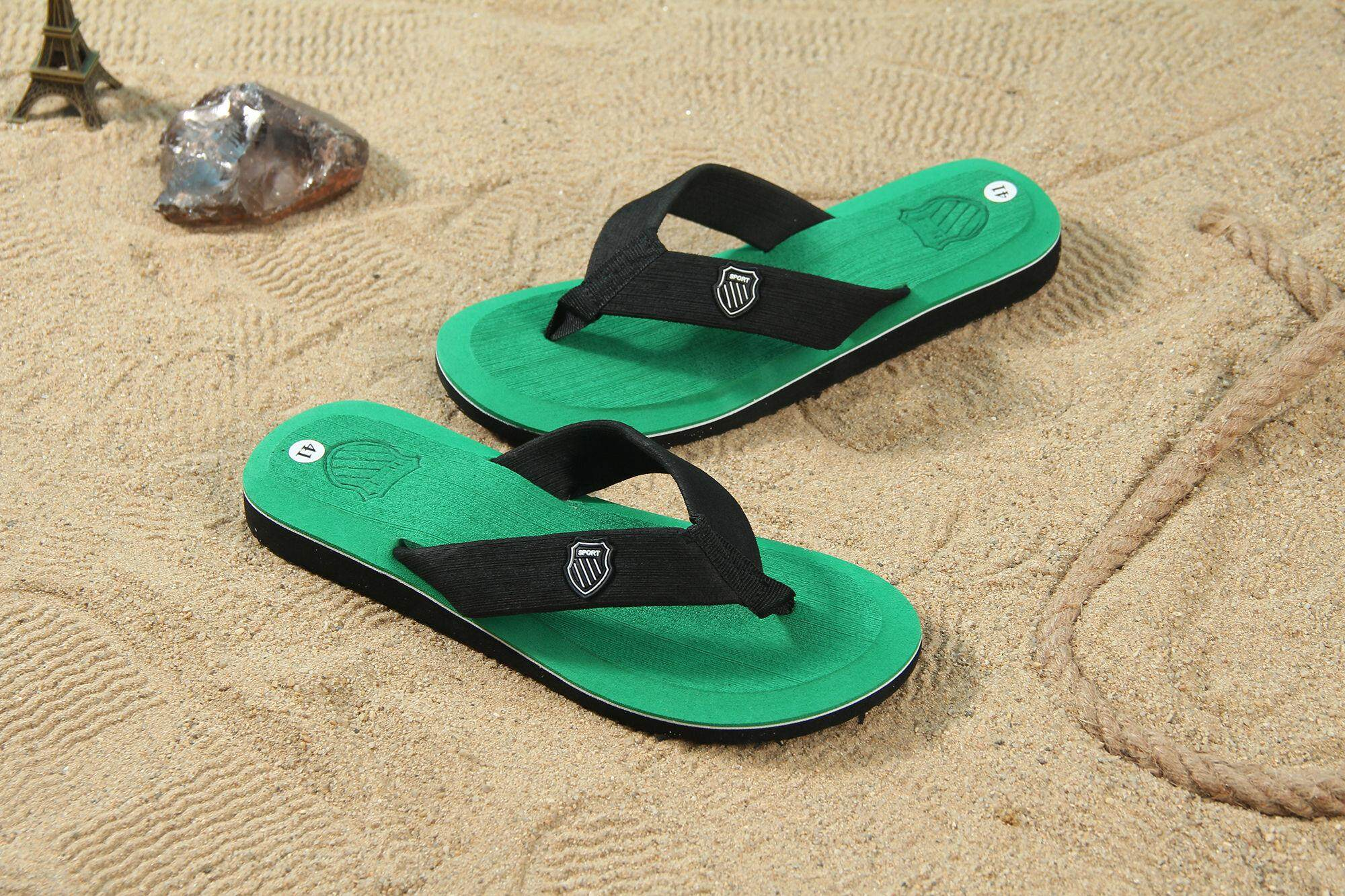 8aa8362ce YEALON Kasut Lelaki 2018 Hot Selling Fashion Beach Slippers Flip Flops Mens  Slippers EVA Casual Men