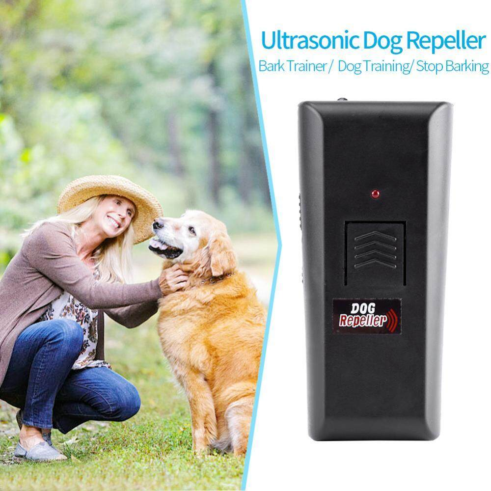 Ultrasonic Dog Aggressive Repeller Chaser Bark Trainer Training Anti Bark Stop Barking By Minxin.
