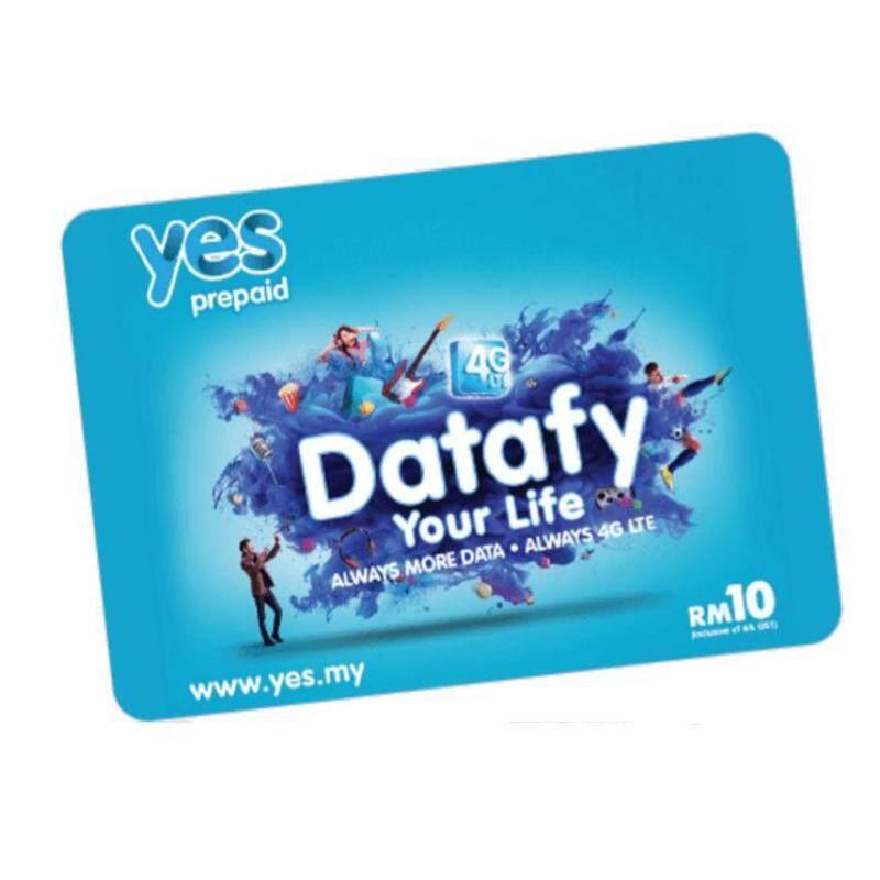 Yes 4G LTE Prepaid Simkad 5GB Data Malaysia