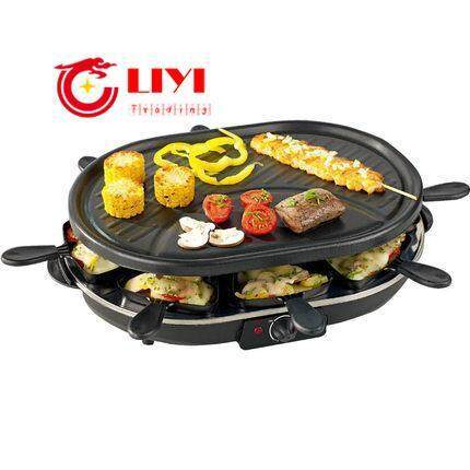 Roasting Pan Barbecue Machine Bbq Double-Deck Nonstick Pan Smokeless Electric Ovens Cb003 By Liyi Trading.