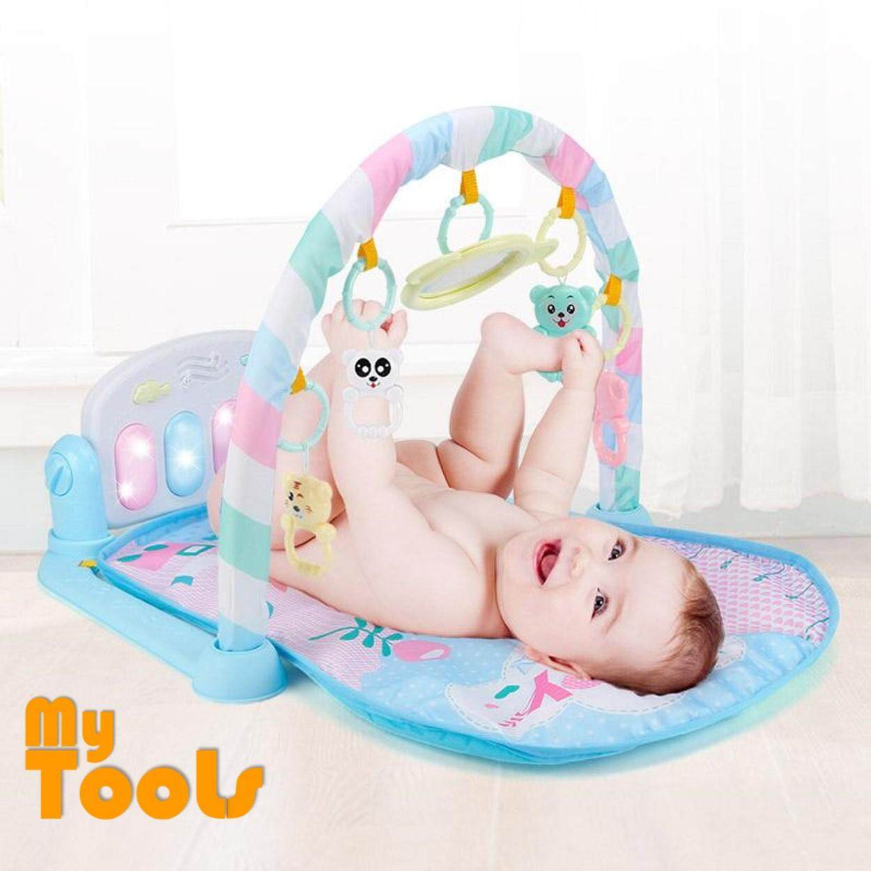 Mytools Baby Play Mat Care Toys Colourful Musical Gym Playing Lay Sit Carpet By Mytools Marketing.