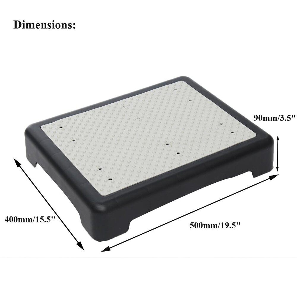 550 Lbs Anti-Slip Stepping Stool Mobility Half Step Helper Holds Indoor &outdoor By Audew.