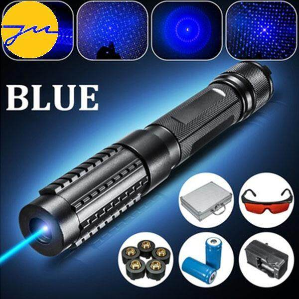 Portable Powerful 1000m High Power Military Blue Laser Pointer Pen Set By Jingming Store.