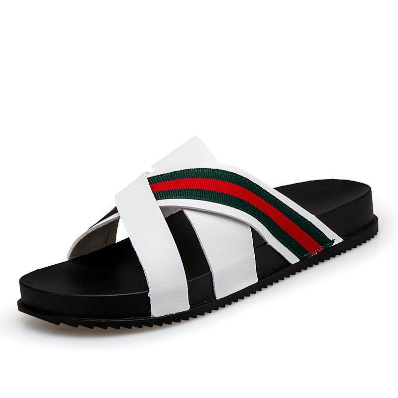bc404f1efc909f Summer Retro Men s Roman Sandals British Style Fashion Holiday Outdoor  Slippers Beach Water Shoes Lelaki Selipar