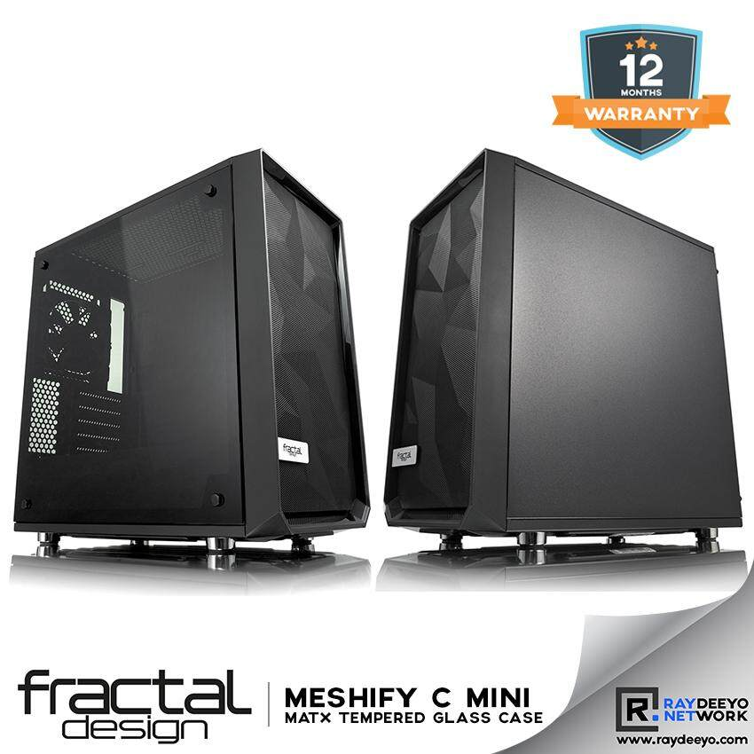 Fractal Design Meshify Mini C Tempered Glass Chassis [Matx, Mini-ITX] Malaysia