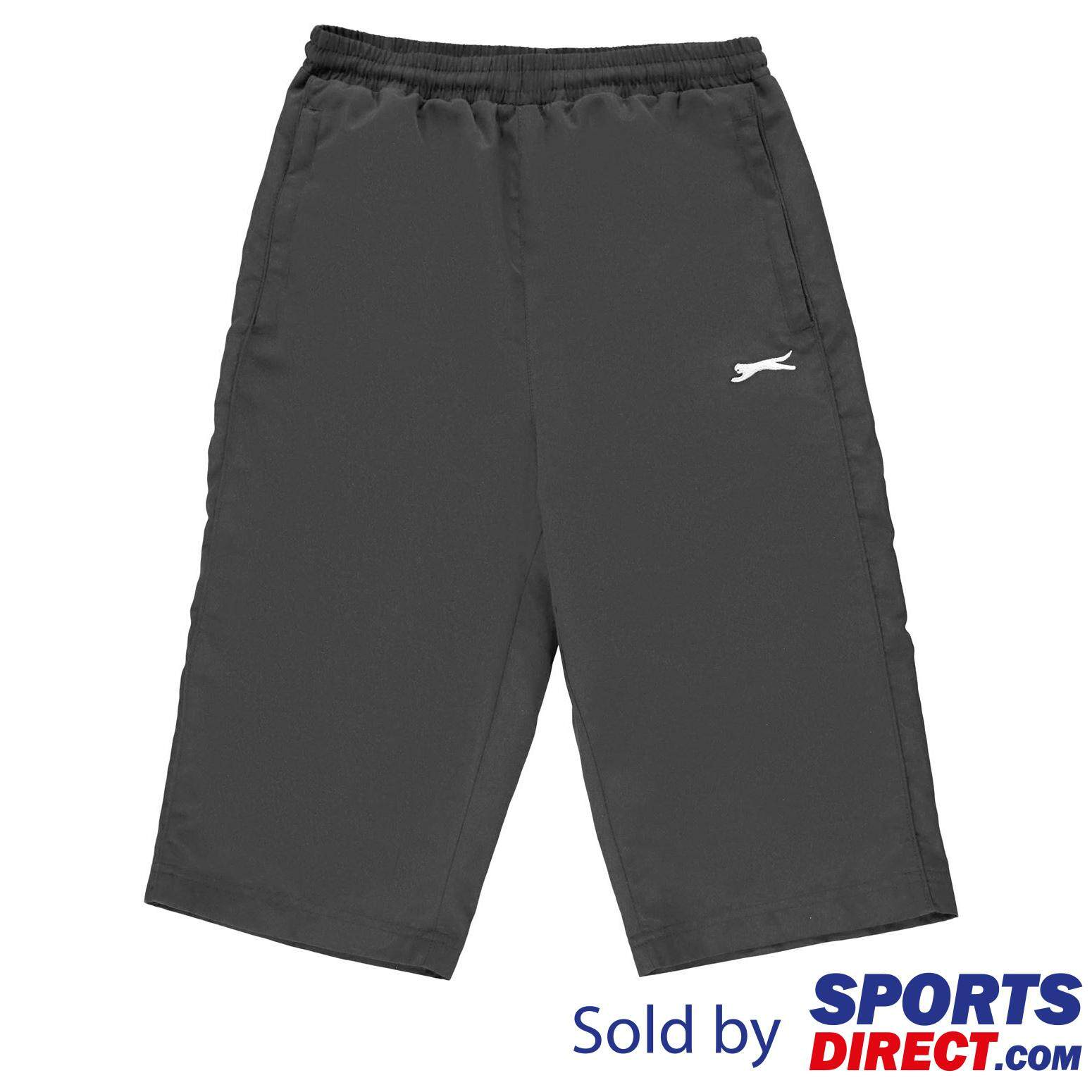 Slazenger Kids Boys Three Quarter Track Pants (charcoal) By Sports Direct Mst Sdn Bhd.