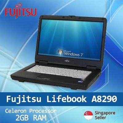 Refurbished Fujitsu A8290 Laptop / Celeron / 2GB RAM / 250GB HDD / Window 7 / Japanese Keyboard / 1mth Warranty Malaysia