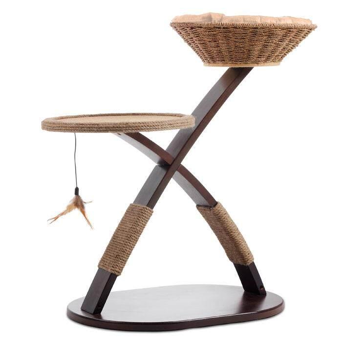 Hagen Afp Kisha Cat Furniture With Jute Scratcher By Doeraymeow Pets Product.